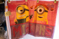 "Despicable Me Minions Girl Soft Bedtime Pillow Case 20"" X 26"" Universal Studio"