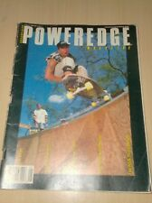 vintage skateboard magazine poweredge august 1989 used ...... Q