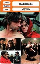 FICHE CINEMA : TRANSYLVANIA - Argento,Casar,Gatlif 2006