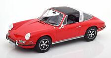 Porsche 911 T Targa Année 1971 Rouge 1 18 NOREV