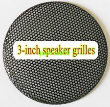 "1pcs 3""inch 79.5MM Car speaker grilles protective cover black Metal iron mesh"