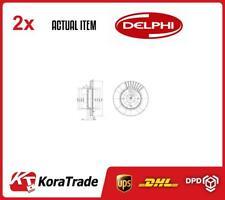 2 X BG3359C Conjunto de Disco de Freno Delphi
