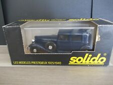Solido 1/43 - Renault Reinastella RM2 - 1934 - l'age d'or