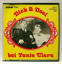 REVUE Film 8707, Super 8, S/W, stumm, 110 m, Dick & Doof bei Tante Clara