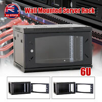 "6U 6RU Cabinet Server Network Data Rack LAN 19"" 19 Inch Wall Mount 450mm Deep O"