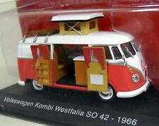 Altaya 1/43 Scale - Volkswagen Kombi T1 Westfalia SO 42 1966 Diecast Model Van