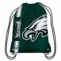 Philadelphia Eagles NFL Drawstring Backpack sack / Gym bag