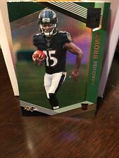 Marquise Brown - 2019 Donruss Green Elite RC
