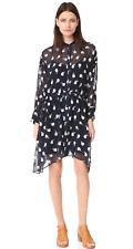 Rag & Bone Elodie Dress in Multi Navy Size S/M $595