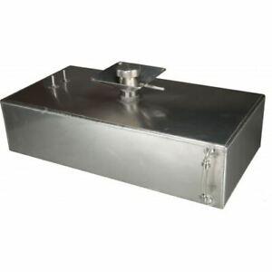 OBP 6 Galloni Quadrato Alluminio Serbatoio Carburante Con Splash Ciotola (