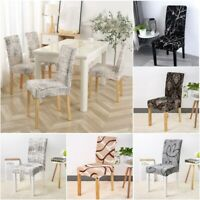 1/2/3/4/5/6/7/8 PCS Stretch Chair Covers for Dining Room Fashion Chair Covers