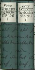 Victor Klemperer - Tagebücher 1933-1941 1942-1945 - 2 Bände im Schuber