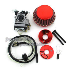 Carb Carburetor Air Filter Vstack For 47cc 49cc Pocket Bike Mini Moto ATV Dirt