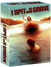 I SPIT ON YOUR GRAVE Blu-Ray *DELUXE Box Set *Limited 1/5000 Halloween GORE*RARE
