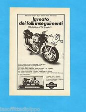 TOP971-PUBBLICITA'/ADVERTISING-1971- MERCURY - MOTO GUZZI V7 SPECIAL