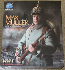 "DID Action Figure ww1 allemand Max Muller 1/6 12"" Coffret Dragon Cyber Hot toy"