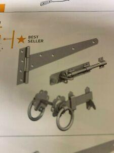 "Gatemate Side Gate Kit (Ring Gate Latch) 18"""