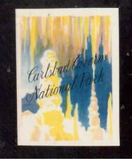 1934 Carlsbad Caverns National Park, New Mexico Poster Stamp