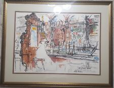 "LEROY NEIMAN ""STAG'S HEAD"" Bar Dublin Original Serigraph Hand Signed in Pencil"