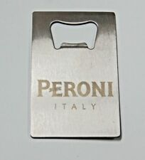 PERONI NASTRO AZZURO Credit Card Bottle Opener Beer Bottle Stainless Steel Blade
