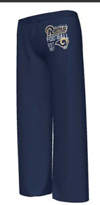 New With Tag Classic St. Louis Rams Majestic Women's Pants - Navy Blue Medium