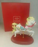 Lenox 2013 Christmas Carousel Horse Figurine Limited Edition Sculpture