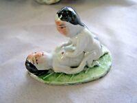 Statue Figurine Erotique en Porcelaine # Art Collection Chine #SP01