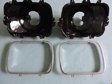 2 New Replacement Headlight Buckets & Rings Fits Chevy,GM 5968095 Dorman 42437