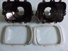 2 New Headlight Buckets & Rings Fits 1984 / 96 Corvette 5968095 Dorman 42437