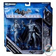 Batman Legacy Action Figures 2 Pack Batman & Catwoman Black & white