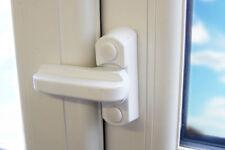 8 X Sash Blocker Window Jammer-sicurezza supplementare per Windows & Porte! BIANCO!