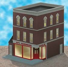 LIONEL 34131 AL'S HARDWARE STORE 3-STORY TRAIN BUILDING ACCESSORY O GAUGE LAYOUT