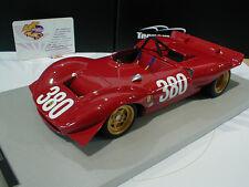 Tecnomodel TM18-37A # Ferrari Dino 212E #380 Cesana-Sestriere 1969 Schetty 1:18