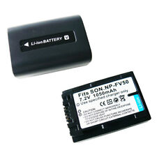 NP-FV50 1050mAh Replacement Battery fit for SONY HDR-XR100 XR150 XR200V XR350V