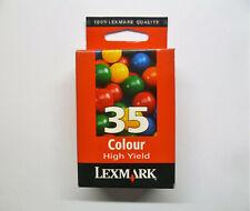 Original Lexmark 35 35XL color X5070 X5075 X5250 X5270 X5470 X5490 Z845 o.V.