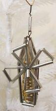 Mill Ornament Extra Rare Antique Christmas Decor Beads Tubes Glass Vintage