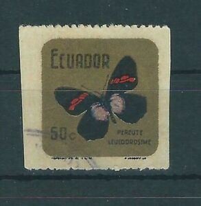 Ecuador,1969,Butterfly,error perf.