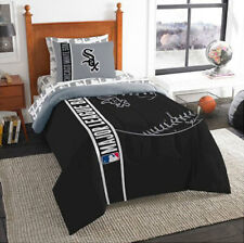 Northwest Nfl Chicago White Sox Sham & Twin Comforter Bedding Set
