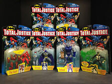 KENNER TOTAL JUSTICE SERIES 1 6 FIGURE SET KENNER JLA GREEN LANTERN BATMAN H1