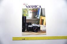 Yashica FX-103 Program Prospekt Kamera / Photography Camera Catalog