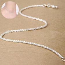 Ankle Chain Beach Bracelet Anklet Women Fashion Jewelry Silver Foot