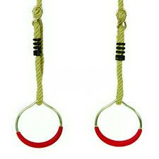 Iron Man Rings trapeze metal rings acrobatic gymnastic playground XR38