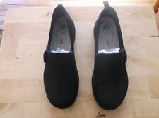 Clarks CloudSteppers Sillian 2.0 Ease Women's Comfort Shoes-Size 8 WIDE-Black