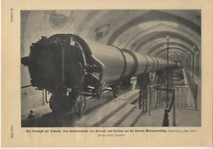 Das Riesenfernrohr v. Deloncle und Gautier auf d. Pariser Weltausstellung v.1900