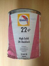 GLASURIT 22 Mix HS-2K-Decklack 22-M 30 Rubinrot 3,5 Liter