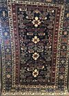 AN AWESOME ANTIQUE PEREPEDILL  CAUCASIAN RUG