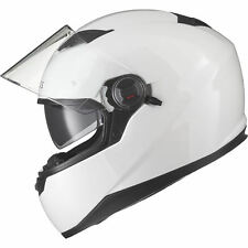 Agrius Rage SV Solid Motorcycle Helmet L Gloss White