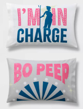 Toy Story 4 Reversible Pillowcase 20 x 30 inch I'm In Charge Bo Peep