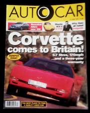 Autocar Magazine (15 Nov 1997) - Mini - Peugeot 406 - Toyota MR2 - Alfa GTV