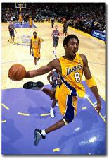 "Kobe Bryant Dunk Basketball Fridge Magnet Size 2.5"" x 3.5"""